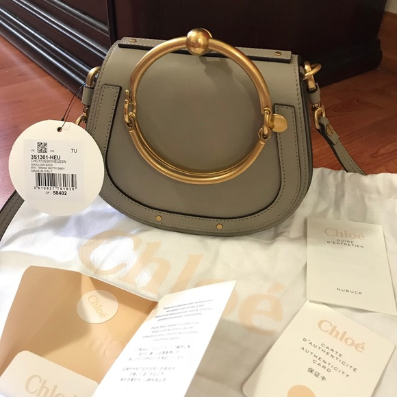 84c3e71f83 CHLOE SMALL NILE BRACELET BAG 100% authentic NWT